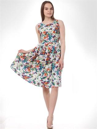 Платье летнее из льна