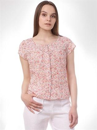 Летняя блуза из хлопка