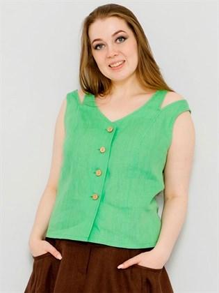 Блуза летняя изо льна