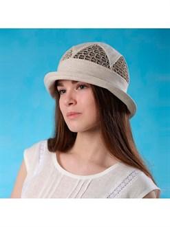 """Льняная шляпка """"Мальта"""""""