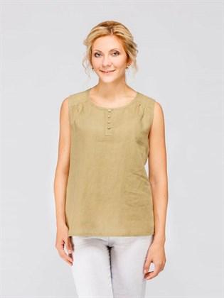 Блуза летняя без рукавов