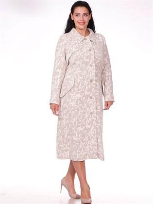 Пальто из вареного льна (без подкладки)