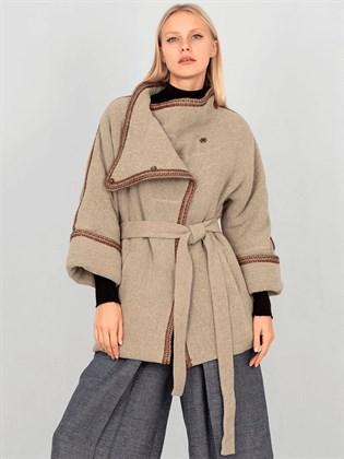 Куртка льняная (двусторонняя, утепленная)