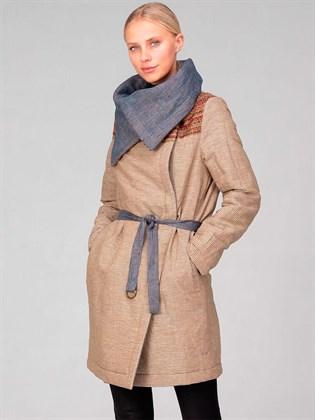Пальто утепленное двустороннее