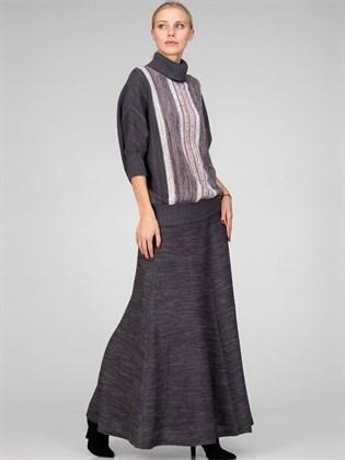 Длинная трикотажная юбка - годе