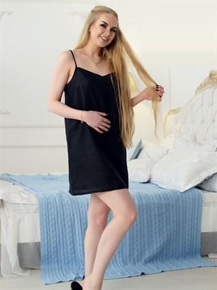 Сорочка женская льняная
