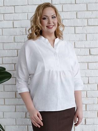 Блуза женская из льна