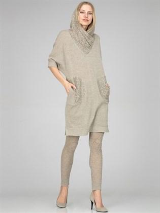 Ажурные льняные брюки