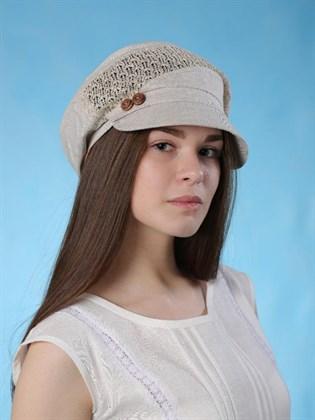 Льняная женская кепка - Верена