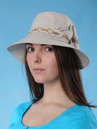 """Льняная шляпа """"Капор"""""""