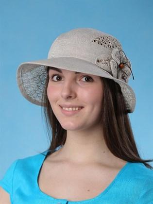 """Льняная шляпка """"Парадиз"""""""