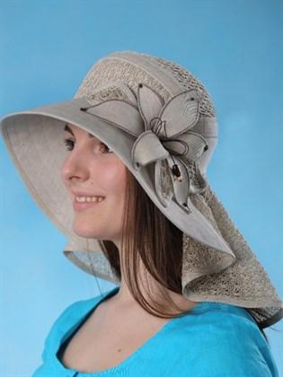 "Шляпа изо льна ""Скарлет"""