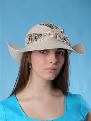 """Шляпа льняная """"Бриз"""""""