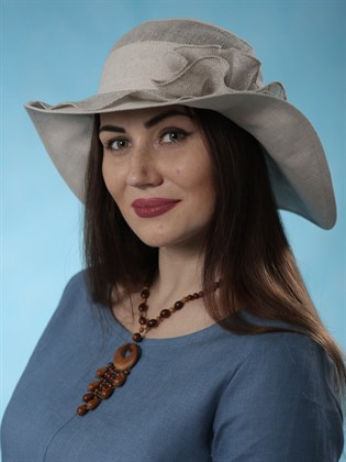 """Шляпа женская """"Волна"""""""