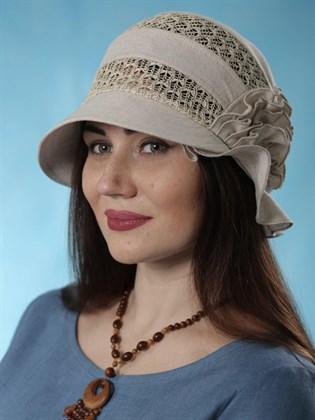 """Шляпа льняная """"Модерн"""""""