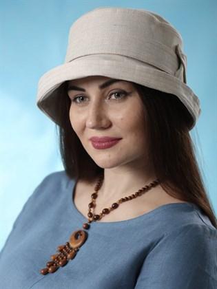 "Шляпа льняная ""Полли"""