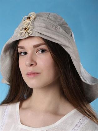 """Шляпа льняная """"Велла"""""""
