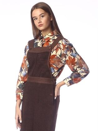 Блуза из трикотажного полотна
