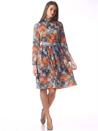 Платье из трикотажного полотна