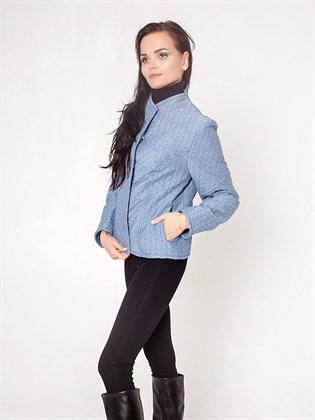 Куртка стеганая из льна