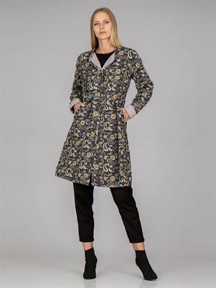 Пальто стеганое Арт. 19ф054/вар1 (фото 1)