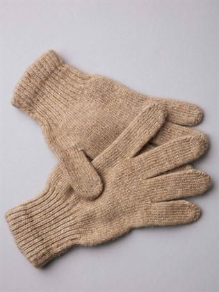 Перчатки взрослые из верблюжьей шерсти