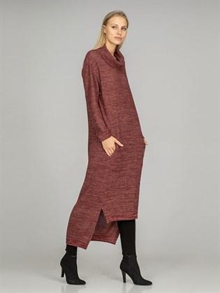 Платье из льна и полушерсти - копия