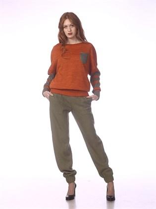 Льняные брюки Арт ш1209-19 (фото 1)