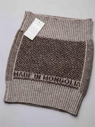 Пояс вязаный из монгольской шерсти