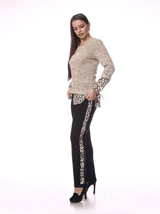 Льняные брюки Арт. 260-19 (фото 1)