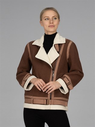Куртка-косуха на молнии