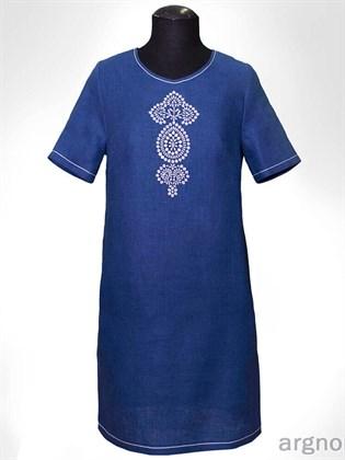 Летнее платье с вышивкой - копия