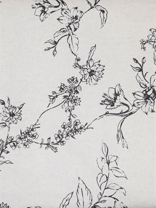 Постельное белье из льна Евро - Шведская роза