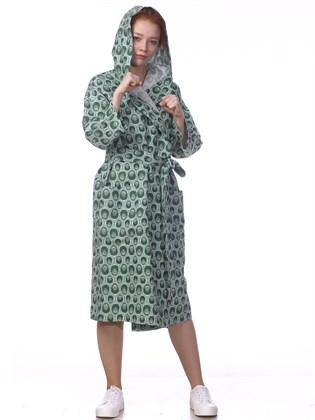 Домашний халат из льна