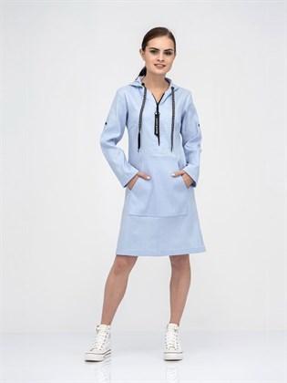 Платье - туника из льна