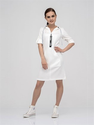Жаккардовое платье-туника