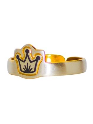 Кольцо серебряное Принцесса