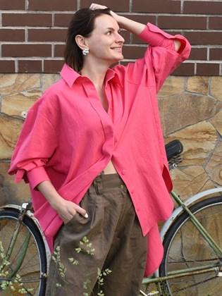 Рубашка-туника женская
