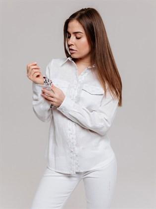 Блузка изо льна