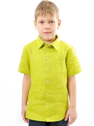 Рубашка льняная для мальчика