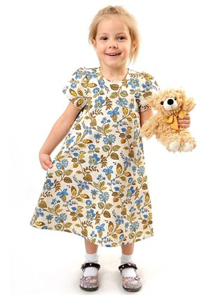 Платье для девочки изо льна