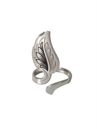 Серебряное украшение на ноготь Флора