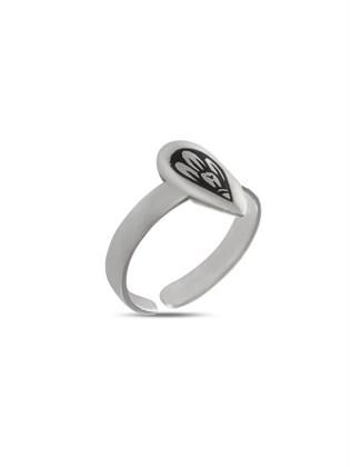 Серебряное кольцо детское Капель