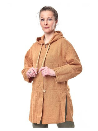 Куртка женская льняная
