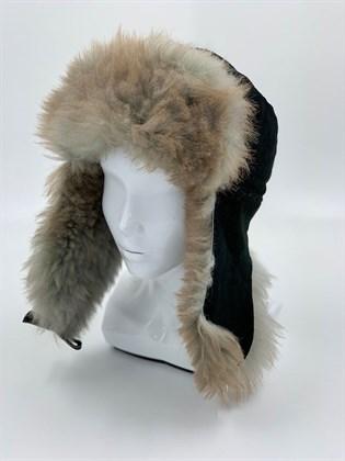 Зимняя мужская шапка Пилот