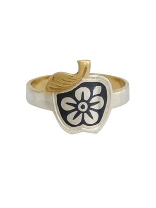 Кольцо серебряное Ева