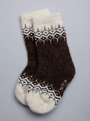 Носки детские из монгольской шерсти