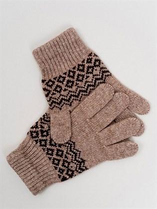 Перчатки из монгольской шерсти