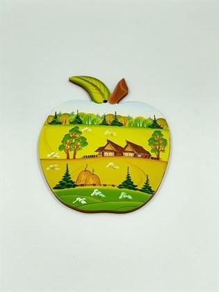 Доска разделочная № 3 (яблоко)