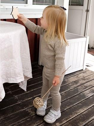 Рейтузы детские из льна